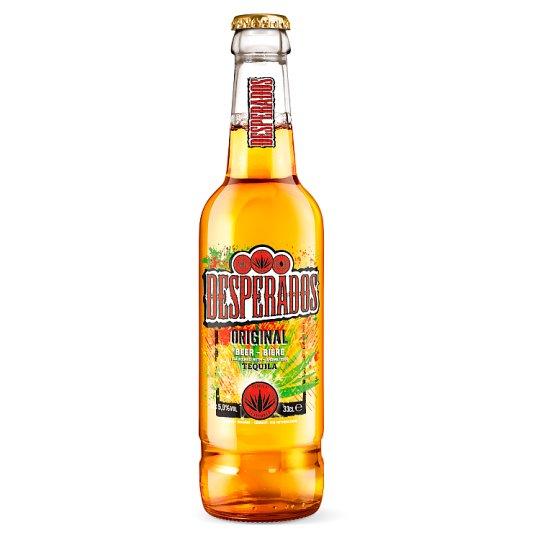 Desperados Beer Flavoured with Tequila 0.33L