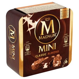 Magnum Mini Classic, Almond Ice Cream 6 x 55ml