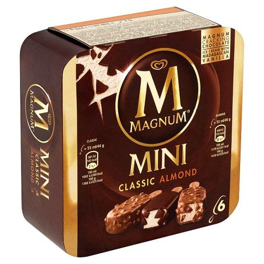 Magnum Mini Classic, Almond Ice Cream 6 x 55ml