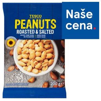 Tesco Peanuts Roasted & Salted 200g