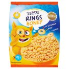 Tesco Cereal Rings with Honey, Vitamins, Calcium and Iron 450g