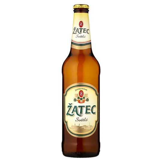 Žatec Bright Tapping Beer 500ml