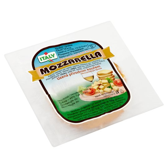 Italy Mozzarella Naturally Smoked 125g