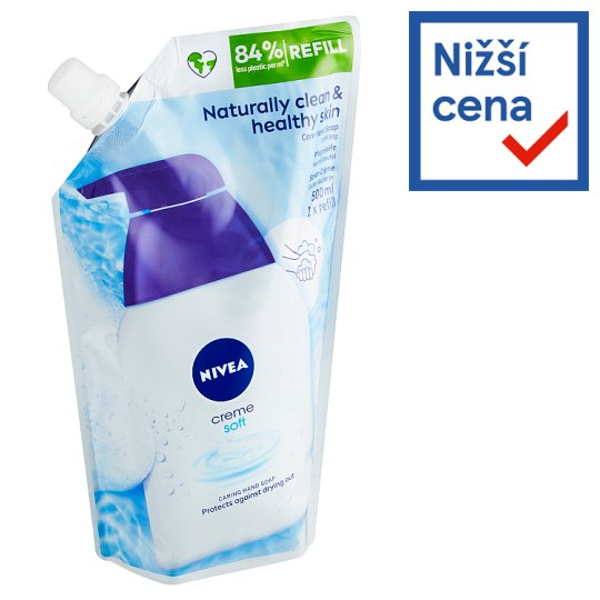 Nivea Creme Soft Liquid Soap Refill 500ml