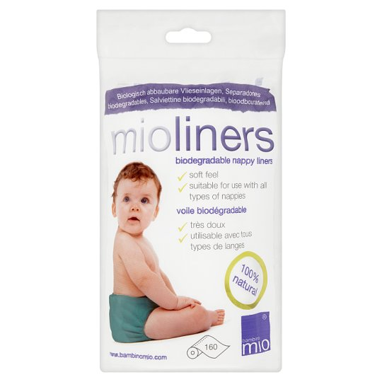 160 Liners Bambino Mio Mioliners Nappy Liners