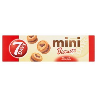 7 Days Mini Biscuits Filled with Cocoa Cream 100g