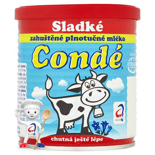 Bohemilk Condé Evaporated Cow Milk 410 g