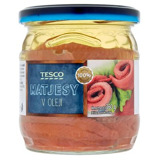 Tesco Herrings in Oil 360g