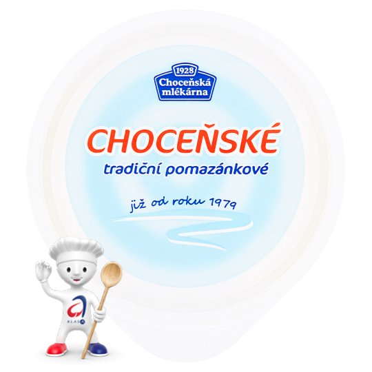 Choceňská Mlékárna Choceňské Traditional Spread Unflavored 200g