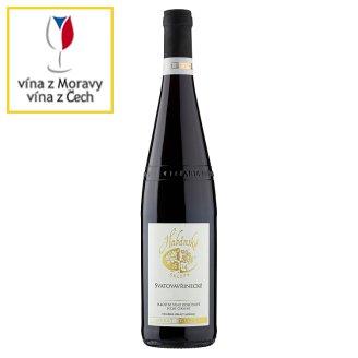 Habánské Sklepy Svatovavřinecké víno suché červené 0,75l