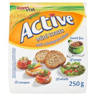 Bona Vita Active Mini toasty s celozrnnou moukou 250g
