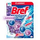 Bref Power Aktiv Lavender Field tuhý WC blok 50g