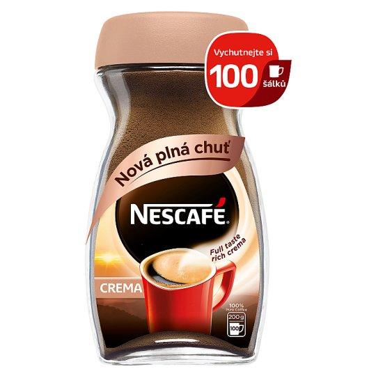 NESCAFÉ CLASSIC Crema, instantní káva, 200g