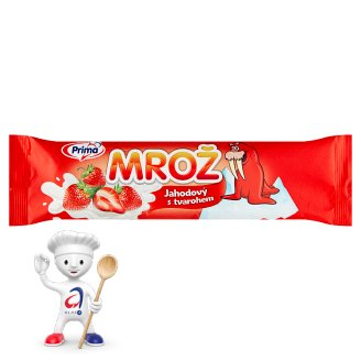 Prima Mrož Strawberry with Cream 45ml