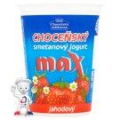 Choceňská mlékárna Choceňský smetanový jogurt max jahodový 380g