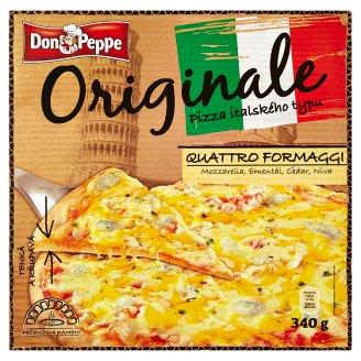 Don Peppe Originale Pizza quattro formaggi 340g
