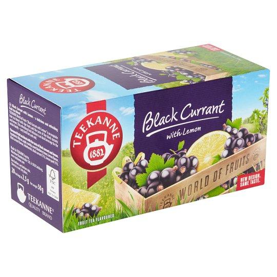 TEEKANNE Black Currant with Lemon, World of Fruits, 20 sáčků, 50g