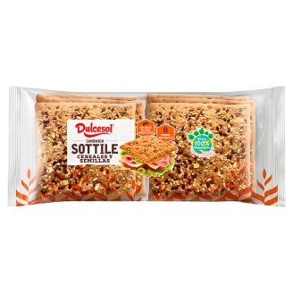 Dulcesol Pan Sottile Cereal Toast 310g