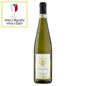 Habánské Sklepy Rulandské bílé jakostní víno odrůdové suché bílé 0,75l