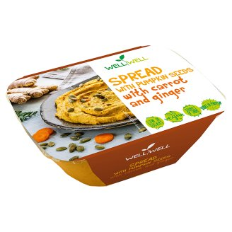 Well Well Spread with Pumpkin Seeds with Carrot and Ginger 125g