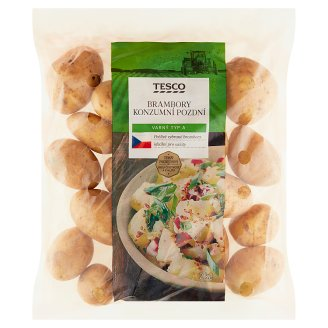 Tesco Brambory konzumní pozdní salátové 2kg
