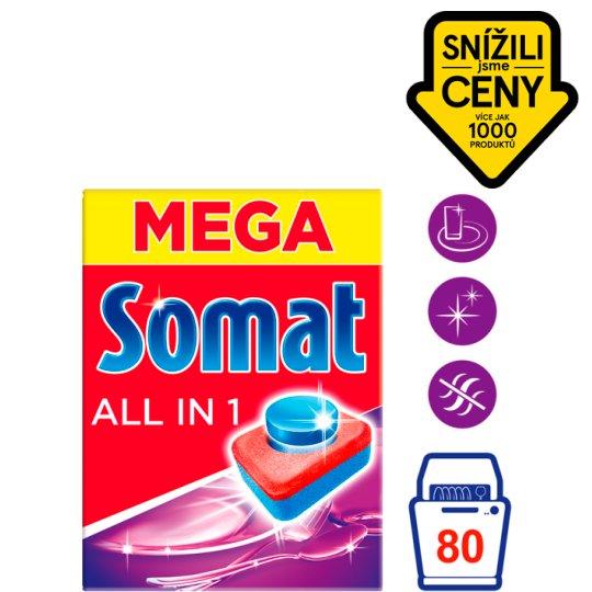 Somat All in 1 Tablety do myčky na nádobí 80 tablet 1440g