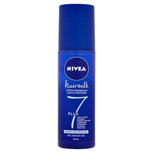 Nivea Hairmilk Regenerační bezoplachový kondicionér 7plus pro normální vlasy 200ml