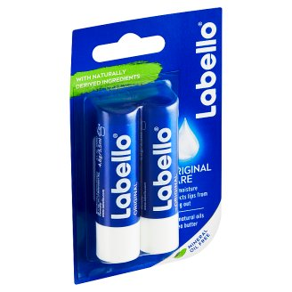 Labello Original Caring Lip Balm 2 x 4.8g