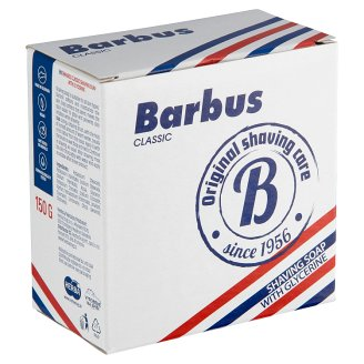 image 1 of Barbus Classic Shaving Soap with Glycerine 150g