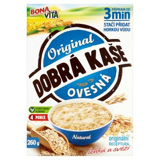 Bona Vita Dobrá Kaše Original ovesná natural 260g