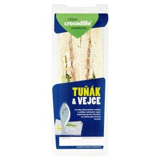 Crocodille Tuňák & vejce sendvič 170g
