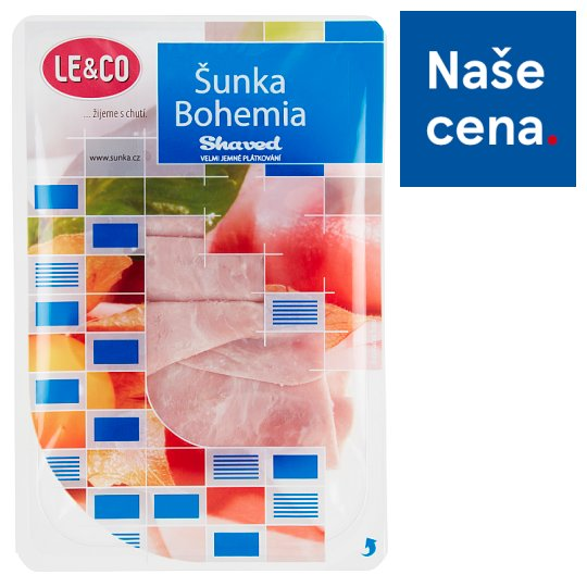 Tesco Ham Bohemia Slices 100g