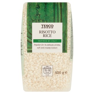 Tesco Risotto Medium Grain Rice 500g