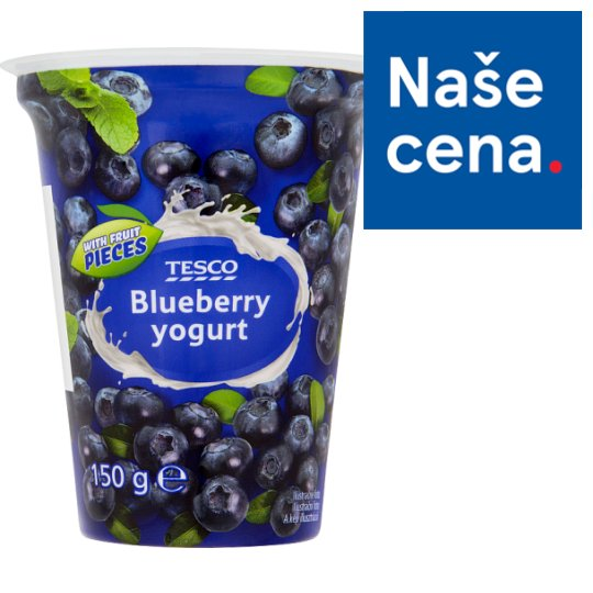 Tesco Yogurt Blueberry 150g