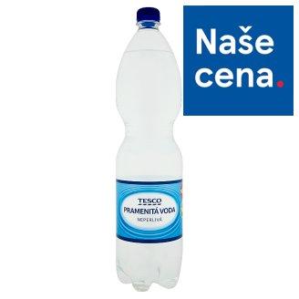 Tesco Pramenitá voda nesycená 1,5l