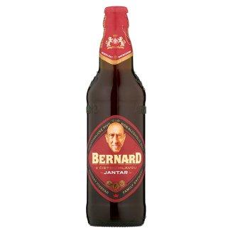 Bernard S čistou hlavou Jantar nealkoholické polotmavé pivo 0,5l