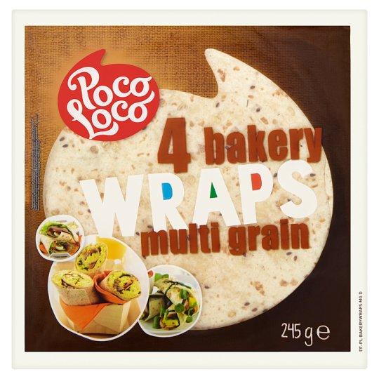 Poco Loco Multigrain tortilla 4 pcs 245g