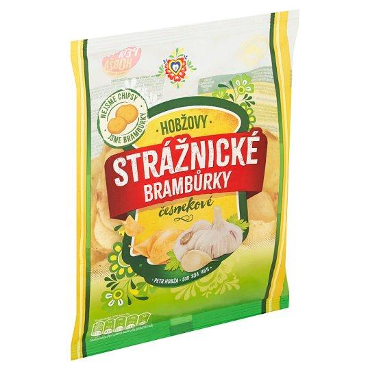Strážnické Brambůrky Garlic Fried Potato Crisps 60g