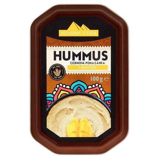 Hedvábná Stezka Hummus cizrnová pomazánka s mangem 100g