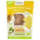 Dr. Karg's Organic Wholegrain Snack with Cheese Emmental and Pumpkin Seeds 110g