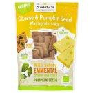 Dr. Karg's Bio celozrnný snack se sýrem ementál a dýňovými semínky 110g