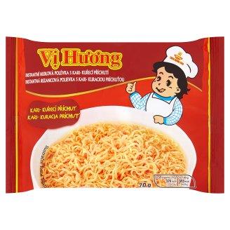 Vi Huong Instantní nudlová polévka s kari-kuřecí příchutí 70g