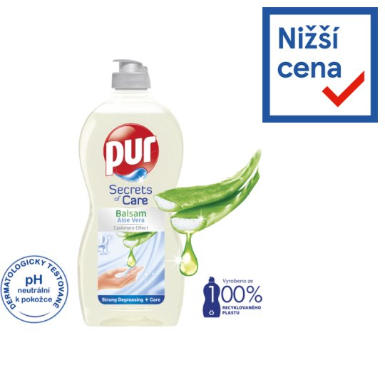 Pur Balsam Aloe Vera Washing Up Liquid 450ml