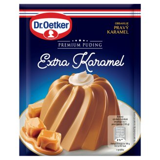 Dr. Oetker Premium Puding Extra Caramel 42g
