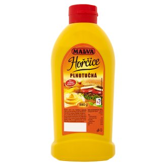 Malva Full-Fat Mustard 880g