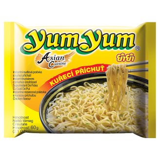 Yum Yum Instant Noodle Soup with Chicken Flavor 60g
