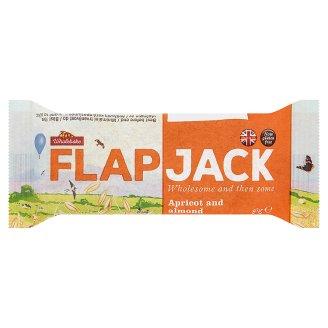Wholebake Flapjack Apricot and Almond 80g