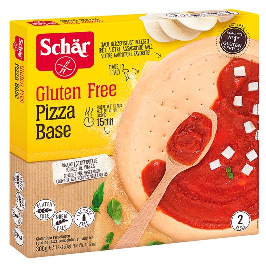 Schär Pizza Base Special Gluten-Free Pastry, 2x Pizza Corpus 300g