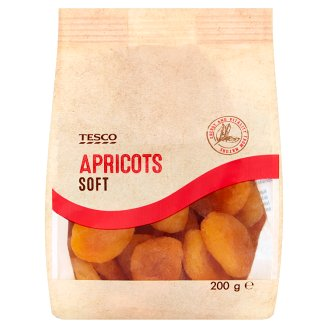 Tesco Apricots Soft 200g