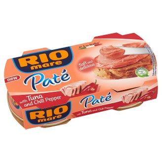 Rio Mare Paté Tuňákový krém s chilli paprikou 2 x 84g